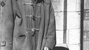 Jan Schoonhoven Sr. met kleinzoon Jan Schoonhoven Jr.