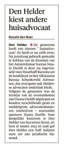 Helderse Courant, 25 oktober 2017