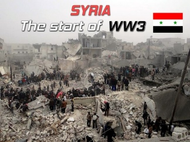 SYRIA The start of WW3 (foto Before It's News)