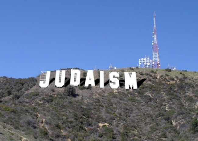 Judaism, Hollywood Sign (foto Horselover Pat's Subliminal Synchro Sphere)