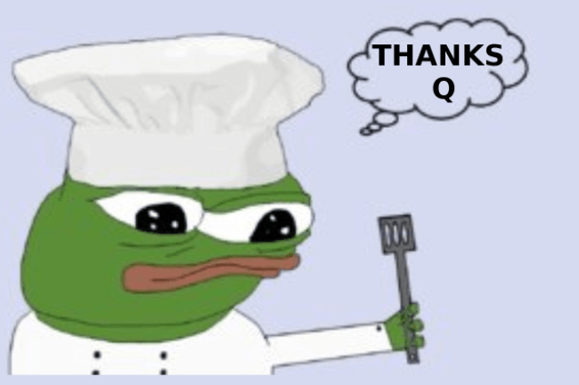 Pepe the Baker on Q-board