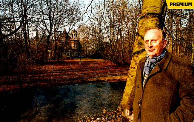 Ewald Marggraff op zijn landgoed Zionsburg, bijna vier maanden voor zijn overlijden (foto Jan Verhoeff)