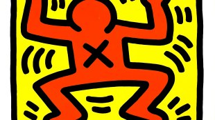 Keith Haring, Stedelijk Museum Amsterdam 15 maart tot 12 mei 1986 (foto Geheugen van Nederland)