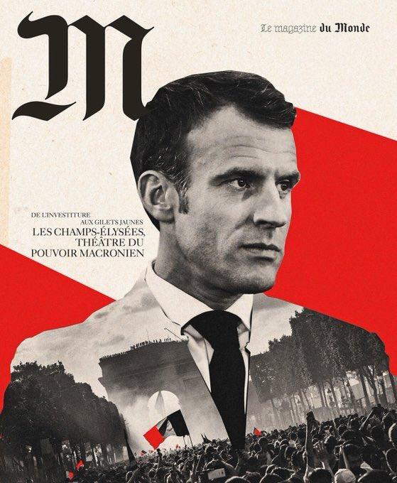 Emmanuel Macron (foto Twitter)