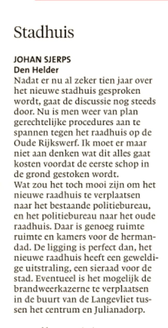 Helderse Courant 11 mei 2019