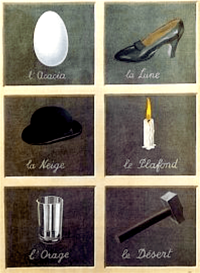 René Magritte - Key to dreams