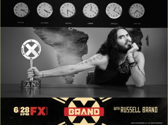 Brand X shown by Russell Brand (foto talesofyoni)