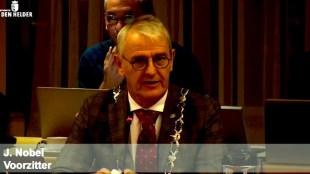 De Helderse interim burgemeesterJeroen Nobel (foto DHA)
