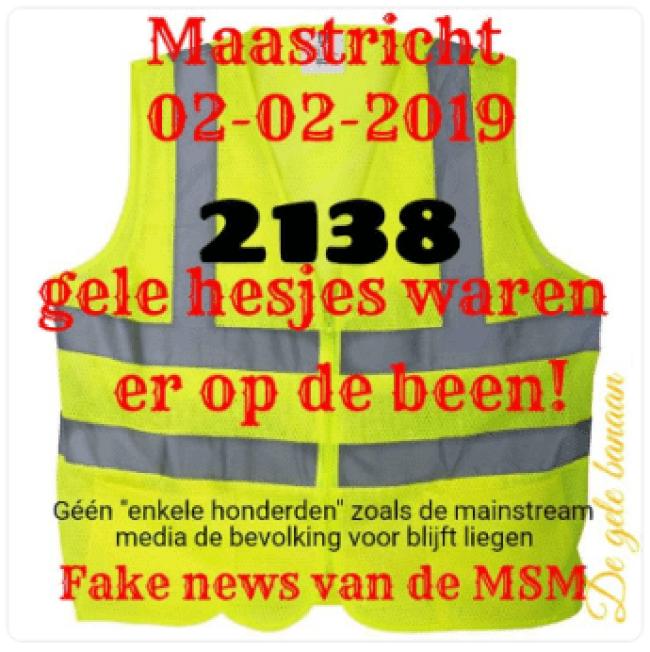 Maastricht 02-02-2019 (foto De Gele Banaan)