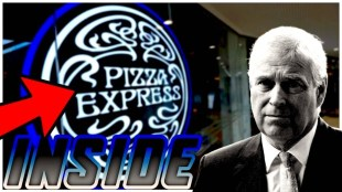 Inside Pizza Express Woking Prince Andrew's Alibi (foto YouTube)