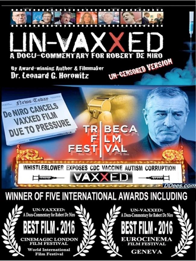 Un-vaxxed awards 2016