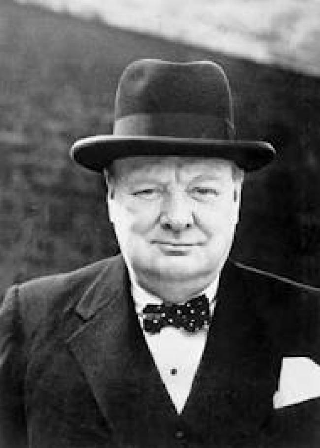 Winston Churchill (foto Henry Makov)