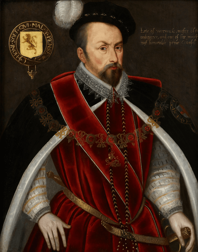 Ambrose Dudley, 1530 – 1590