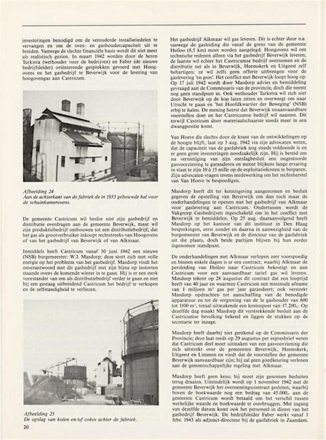 Jaarboek Oud Castricum | 1 november 1991 | pagina 20