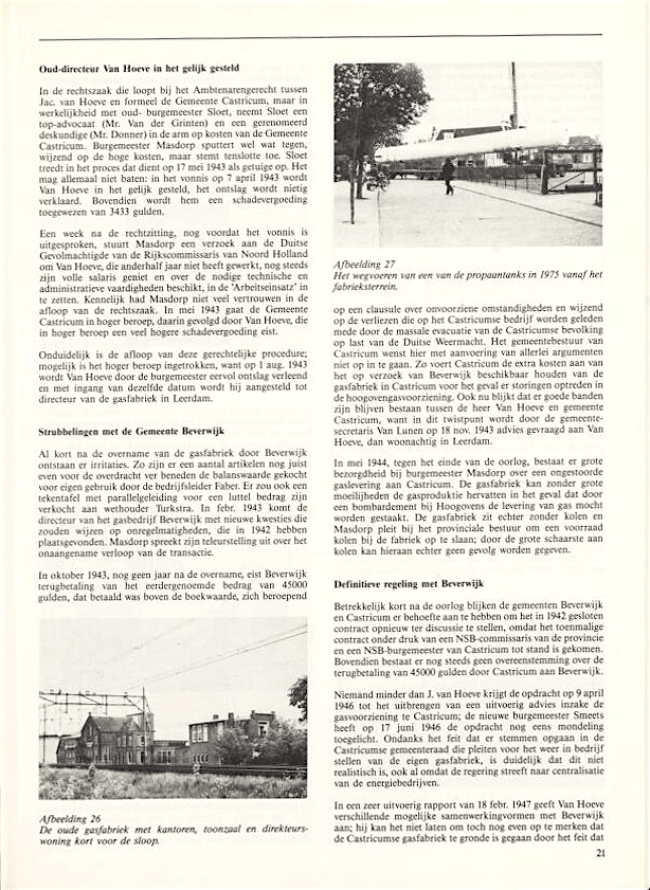 Jaarboek Oud Castricum | 1 november 1991 | pagina 21