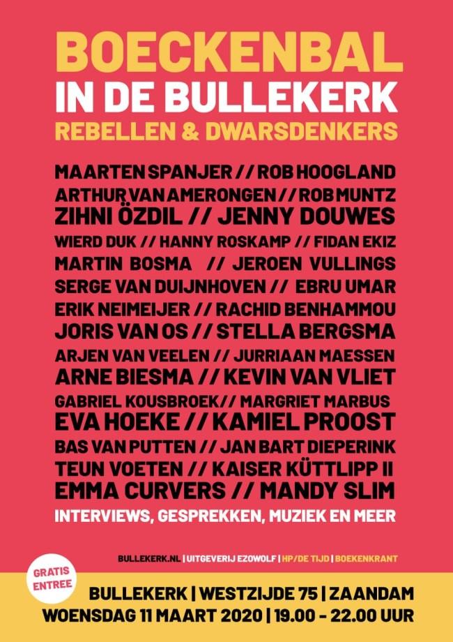 Boeckenbal in de Bullekerk Rebellen & Dwarsdenkers