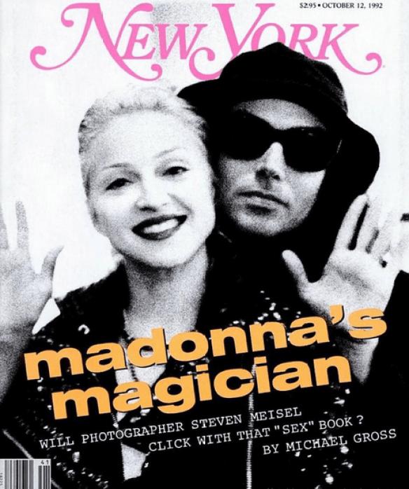 Madonna's magician, New York, October 12, 1992