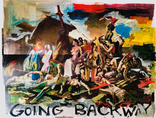 Peter Klashorst - Going backway (1)