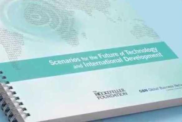 Rockefller Foundation - Scenarios fot the Future of Technology and International Development (foto YouTube)