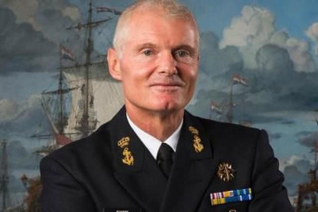 Vice admiraal Rob Kramer (foto NHD)