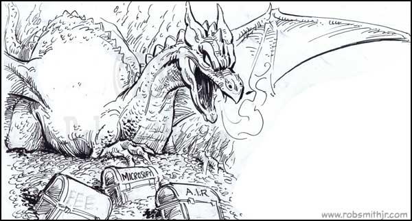 2015-1026-INKtober-Dragon