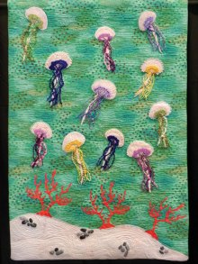 """""""Jellies,"""" the quilt submitted by Lucy Rees."""
