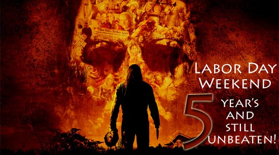 Rob Zombie's Halloween still holds the labor day record