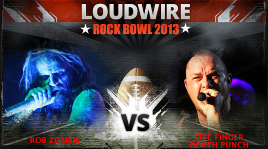2013 Loudwire Rock Bowl matchup