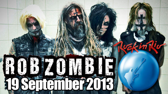 Rob Zombie Rock In Rio
