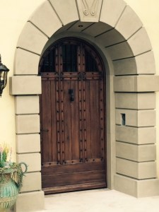 Pacific Palisades Front door 002