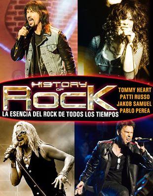 HISTORY OF ROCK - Fechas