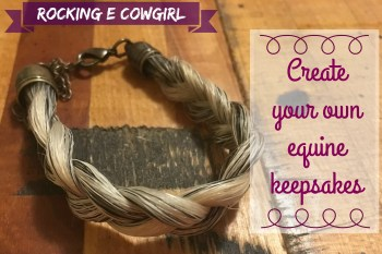 How to: Create your own special equine keepsakes