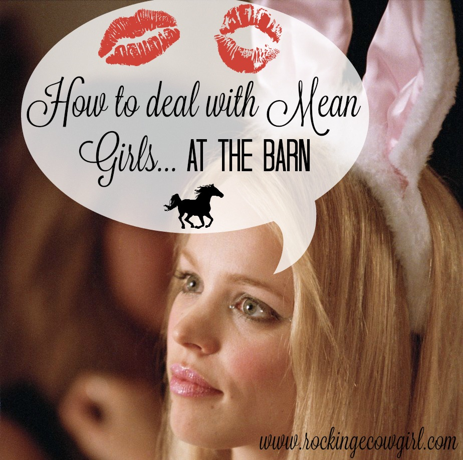 how-to-deal-with-mean-girls-at-the-barn