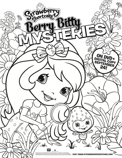 Strawberry Shortcake Berry Bitty Mysteries