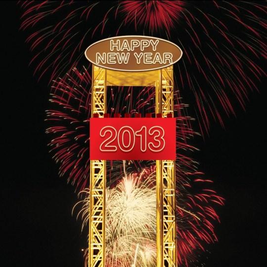 2013 New Years Brick Drop