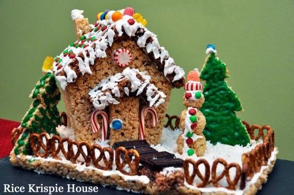 Rice Krispie House
