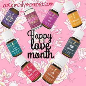 February, Valentines, Young Living, bedroom oils