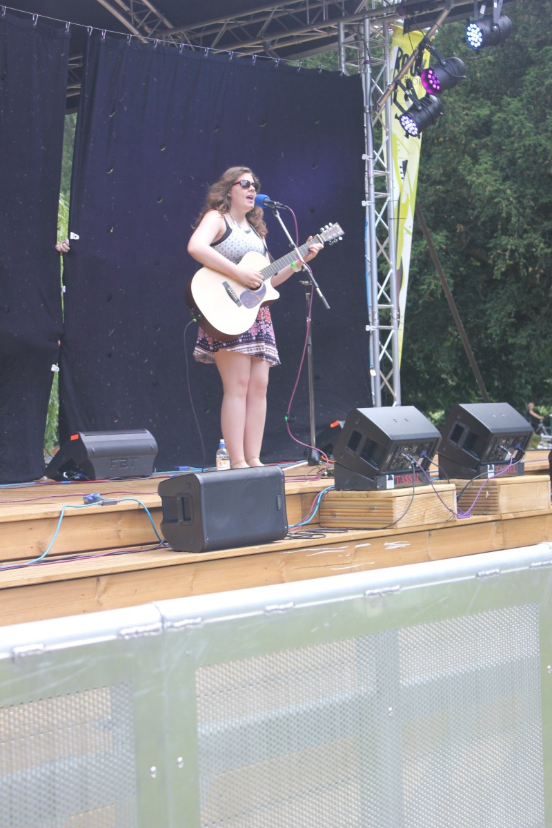 Sophie Kitchener Rock in the Priory 2016