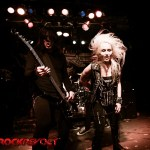 Awesome pic of Nick & Doro - hair flying!
