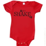 I-100006 They SHAKE Me! Hysterical Cute/Funny Baby Onesie