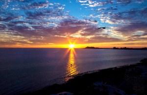 atardecer en el Mar de Cortés- Plinio-Rivero 2013®