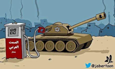 Saudi cartoonist Jabertoon's take on Gaza conflict