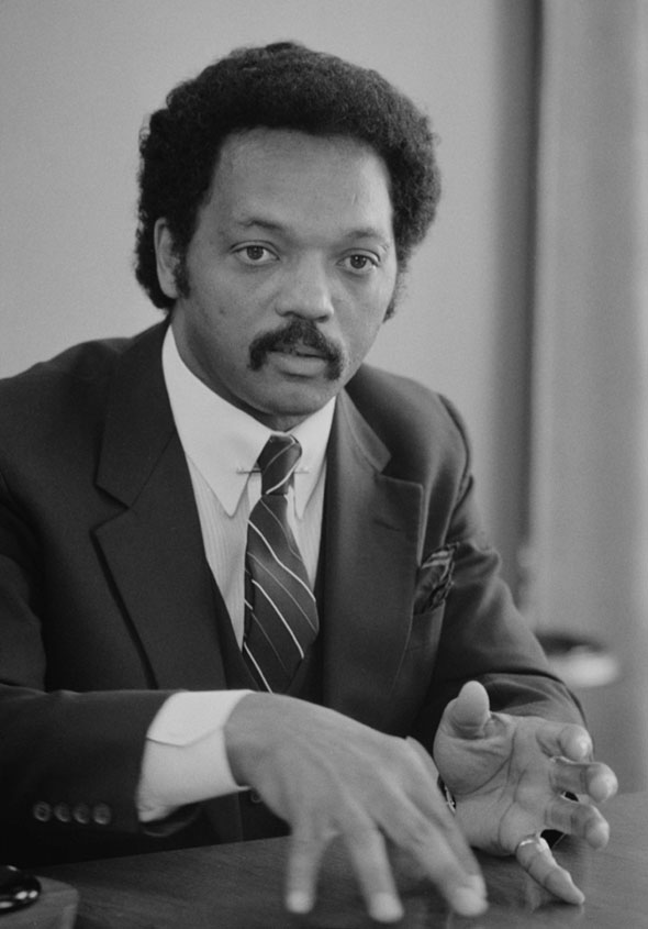Jesse Jackson by Warren K Lefler (Public Domain)