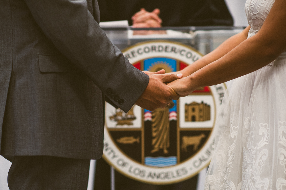 006- Cynthia and David - Beverly HIll Courthouse Wedding