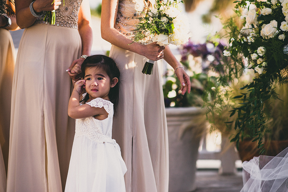 Flower Girl Ceremony