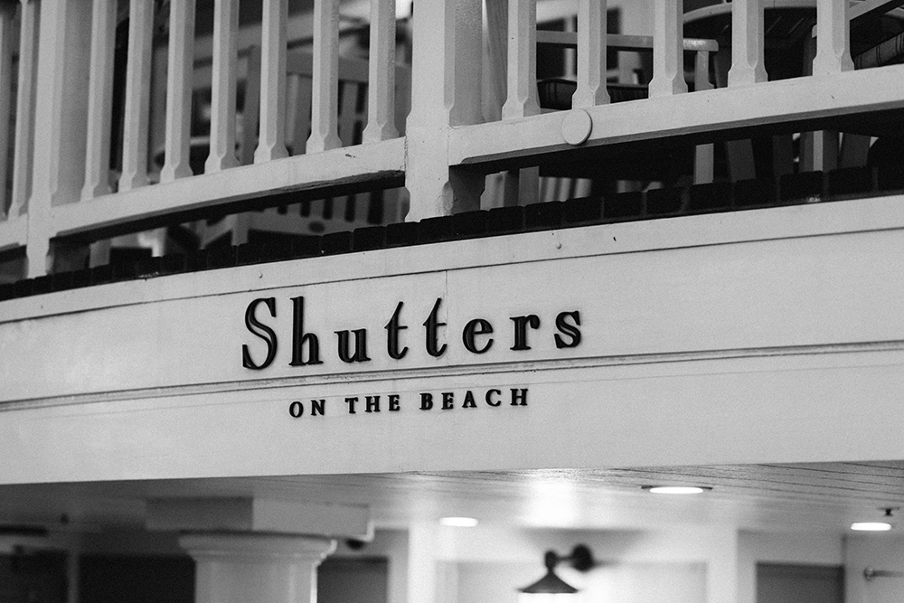 shutters on the beach