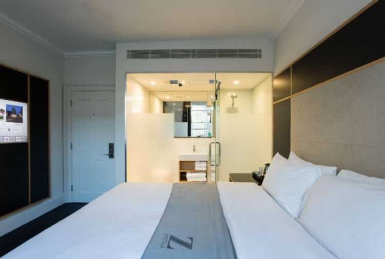 Quirky Z Hotel: Urban luxury with free cheese and wine