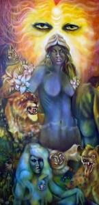 Symbolic Art, art symbolism, symbolic realism, paiting, Inanna, Ishtar, history, mythology