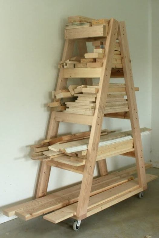 posted this lumber rack on Facebook and Instagram with the call to ...