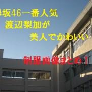欅坂46一番人気・渡辺梨加
